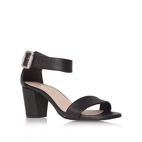 KG Kurt Geiger - Black +Nina+ leather summer sandals