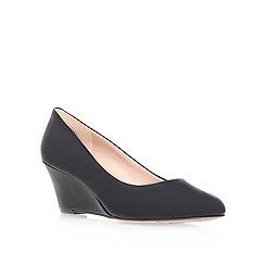 Nine West - Black 'Mela3' mid heel court shoes