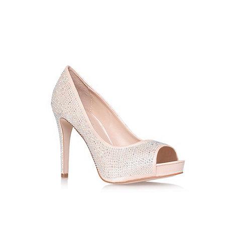 Carvela - Cream +Grind+ high heel sandal