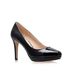 Nine West - Black 'Beautie' High Heel Court Shoes