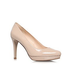 Nine West - Nude 'Beatie' High Heel Courts