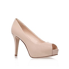 Nine West - Nude ' Camya ' High Heel Court Shoes