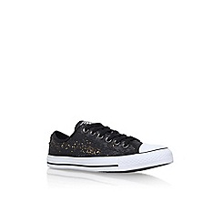 Converse - Metal 'Ct Sequins' low flat lace up sneakers