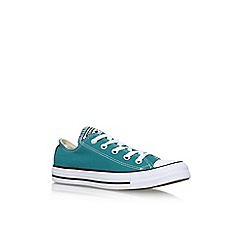 Converse - Blue 'Ct Low Seas' Flat Lace Up Sneakers