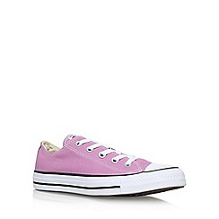 Converse - Purple 'Ct Low Seas' Flat Lace Up Sneakers