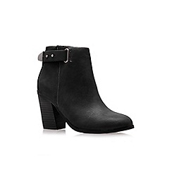 Miss KG - Black 'Bea High Heel Ankle Boots