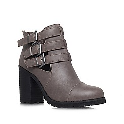 Miss KG - Taupe 'Bianca' high heel ankle boots