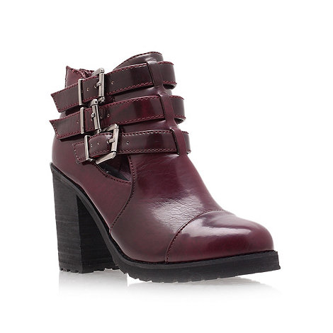 Miss KG - Wine +Bianca+ high heel ankle boots