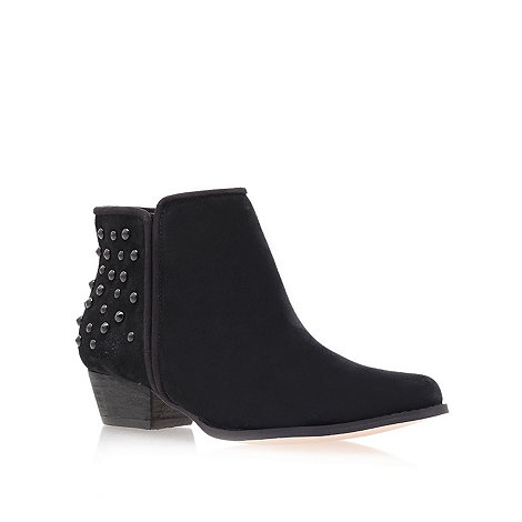 Miss KG - Black +Bella+ Low Heel Ankle Boots