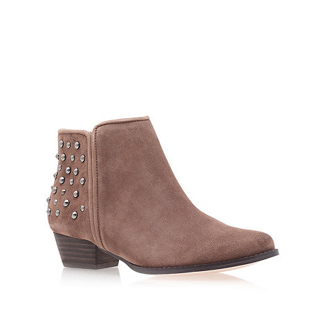 Miss KG - Taupe +Bella+ Low Heel Ankle Boots