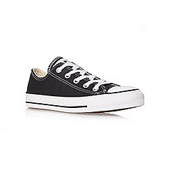 Converse - Converse black 'ct leather' low trainer