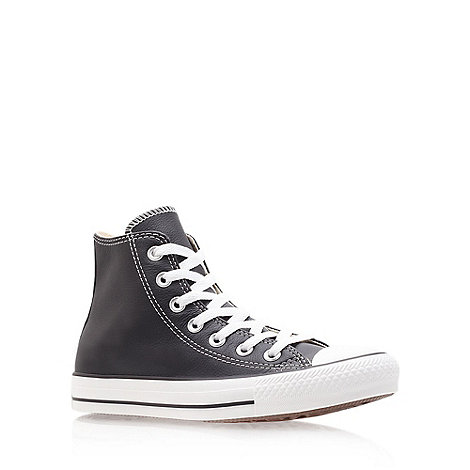 Converse - Converse black +ct leather+ hi trainer