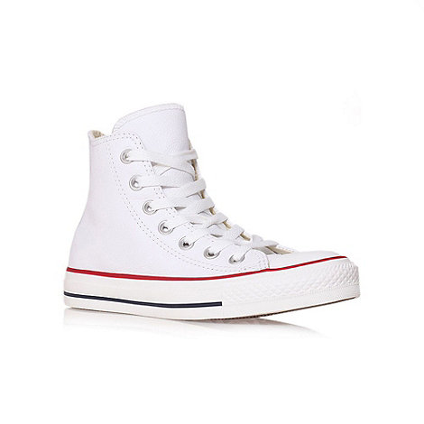Converse - Converse white +ct leather+ hi trainer
