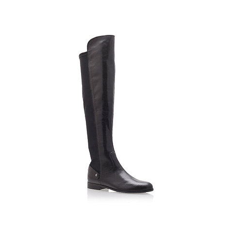 Carvela - Carvela +Wood+ black flat knee boots