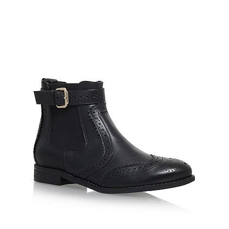 Carvela - Black +Slow+ flat Chelsea boots
