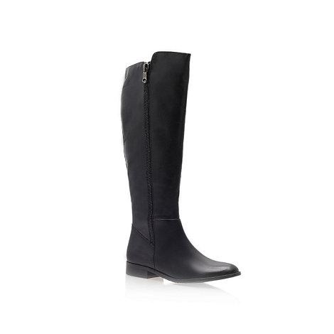 Carvela - Black +wanda+ flat knee boots