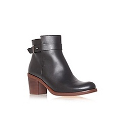 KG Kurt Geiger - Black 'Sasha' high heel ankle boot