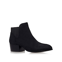 KG Kurt Geiger - Black 'Scout' Low Heel Ankle Boots