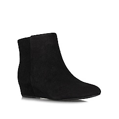 Nine West - Black 'Metalina' low heel boots
