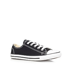 Converse - Converse black 'ct dainty' flat low-top trainers