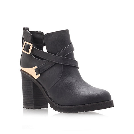 Miss KG - Black +Bonjour+ high heel ankle boots