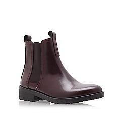 KG Kurt Geiger - Wine 'Stomp' Low Heel Chelsea Boots