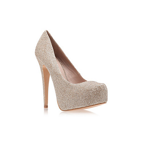 Carvela - Bronze +Kaci+ High Heel Court Shoes