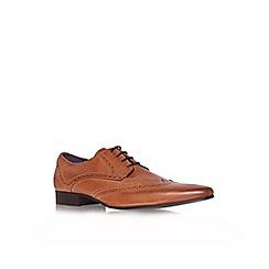 KG Kurt Geiger - Tan 'jake' flat brogue shoes