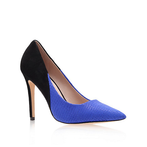 Carvela - Blue +Ash+ High Heel Court Shoes