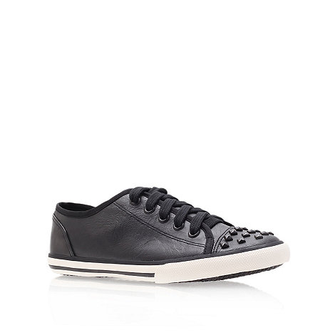 Miss KG - Miss KG Bret black flat low top trainers