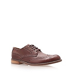 KG Kurt Geiger - Tan 'Randwicks' flat lace-up shoes