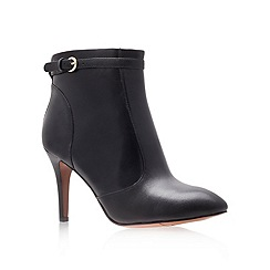 Nine West - Black 'mainstay' high heel ankle boots