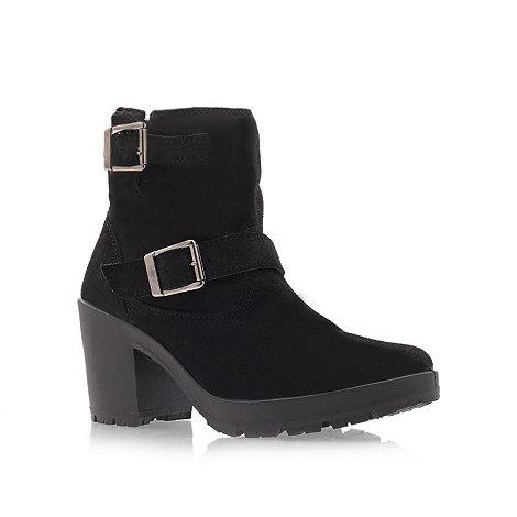 Miss KG - Miss KG Harry black mid heel ankle boots