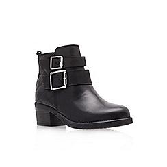 Carvela - Black 'Sputnik' mid heel ankle boots
