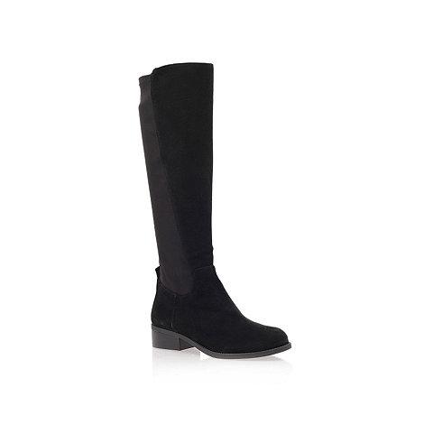 Nine West - Black +partay+ low heel knee boots