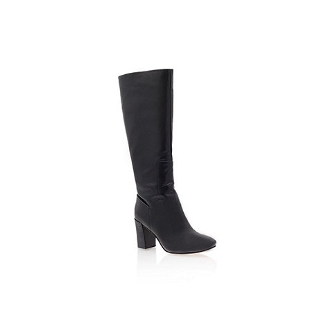 Nine West - Black +Chio+  mid heel knee boots