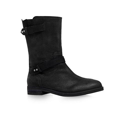 Carvela - Black +Tanya+ flat calf boots