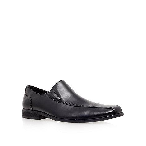 KG Kurt Geiger - Black +Herberts+ flat loafer shoes