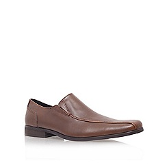 KG Kurt Geiger - Brown 'herberts' flat loafer shoes