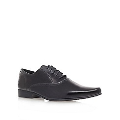 KG Kurt Geiger - Black 'pathoz' flat derby shoes