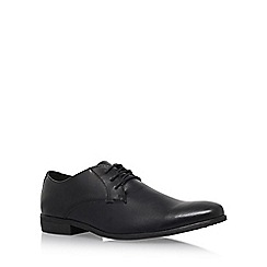 KG Kurt Geiger - Black 'inspectors' flat derby shoes