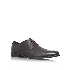 KG Kurt Geiger - Brown 'inspectors' flat derby shoes