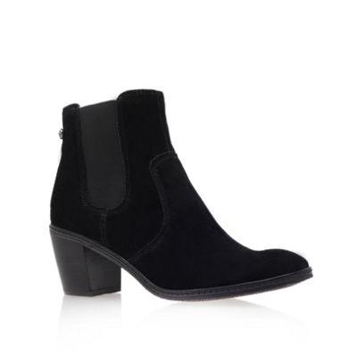 Anne Klein Black ´ Bunty ´ Mid Heel Ankle Boots - . -