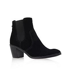 Anne Klein - Black ' Bunty ' Mid Heel Ankle Boots