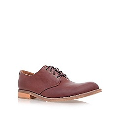 KG Kurt Geiger - Tan 'grant' flat lace-up shoes