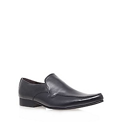 KG Kurt Geiger - Black 'mitchel' flat loafer shoes