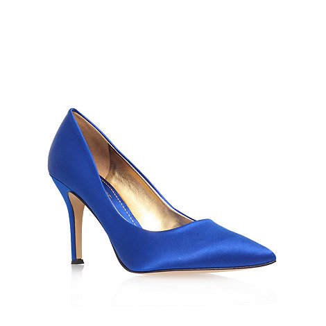 Nine West - Blue +Flax22+ high heel court shoes