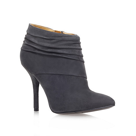 Nine West - Grey +Junette+ high heel ankle boots