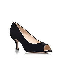 Nine West - Black 'Quinty' Open toe court