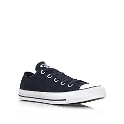 Converse - Navy 'CT Suede' Low Lace up